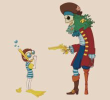 Goggle Boy vs Pirate King by Tigerpig
