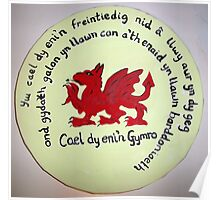 Born Welsh Poster