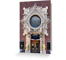 Merchants National Bank, Grinnell, Iowa, Louis Sullivan Greeting Card