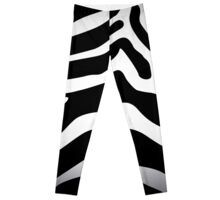 Zebra texture Leggings