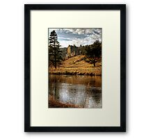 Late Afternoon, Neidpath Castle Framed Print