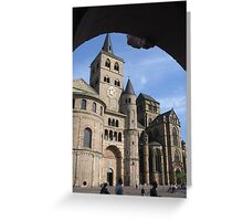 Framed Trier Cathedral Greeting Card