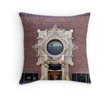 Merchants National Bank, Grinnell, Iowa, Louis Sullivan Throw Pillow