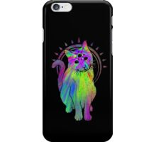 Psychic Psychedelic Cat iPhone Case/Skin