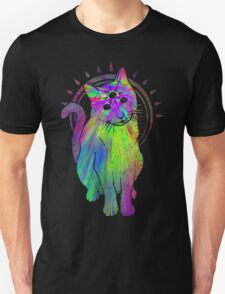 Psychic Psychedelic Cat T-Shirt