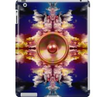 Music speaker on a fantasy background iPad Case/Skin