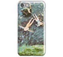 Water Nymphs by Sarah Kirk iPhone Case/Skin