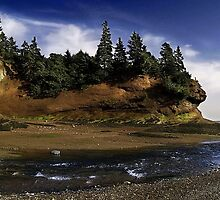 The Caves - St. Martin's, New Brunswick, Canada by Sherry Seely