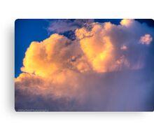 Beautiful Stormy Sky Canvas Print