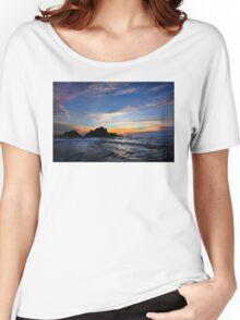 Big Sur sunset  Women's Relaxed Fit T-Shirt
