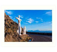 Christ On The Cross - Slea Head Road - Ireland Art Print