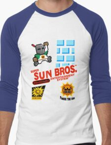 super sun bros. Men's Baseball ¾ T-Shirt