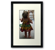 Baby Dance Framed Print