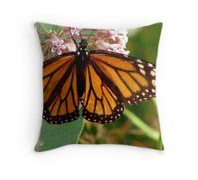 Transluscent Monarch Throw Pillow