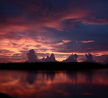 Dusk in the Keys by D R Moore