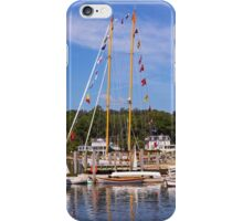 Seaport Scenery iPhone Case/Skin
