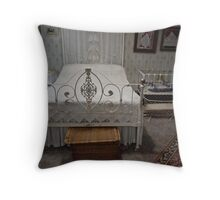 Hope Cottage bedroom Throw Pillow
