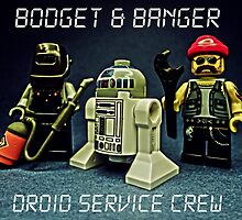 Bodget & Banger- Droid Service Crew by TimConstable
