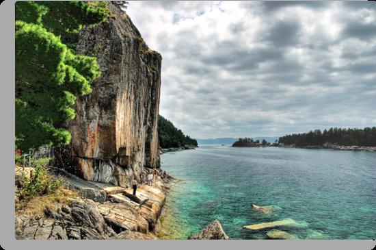 Agawa Rock, Lake Superior Provincial Park, Ontario Canada by Eros Fiacconi (Sooboy)