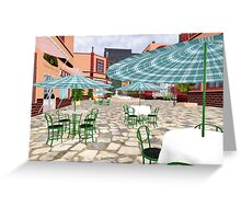 Cafe Afternoon Greeting Card