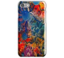 blue conections iPhone Case/Skin