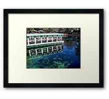 The Glass Bottom Boat Framed Print