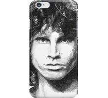 Sketch of Jim Morrison THE LIZARD KING iPhone Case/Skin
