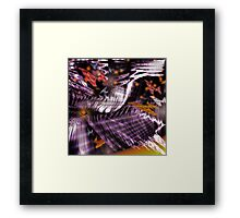 In A World of Butterflies and Fireflies (Image and Poem) Framed Print