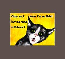 St. Patrick's Day cat Unisex T-Shirt