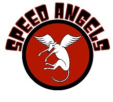 Speed Angels (STICKERS and LIGHT BACKGROUND) by jameshardy