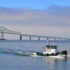 Astoria Pilot Boat by Bob Hortman