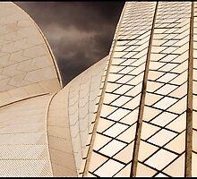 AB013 Sydney Opera House ceramic roof tiles by sydneyphotoart