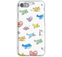 Cute airplanes iPhone Case/Skin