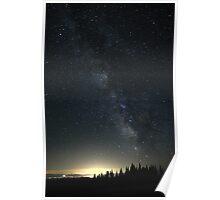 Milky Way over Yakima Poster