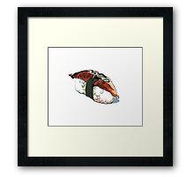 Unagi sushi Framed Print