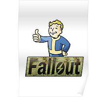 Vault Boy - Fallout Poster