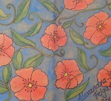 Poppies - SketchBook Project  by Alexandra Felgate