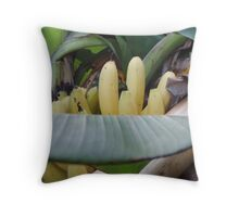Baby Bunch - Local Bananas  Throw Pillow