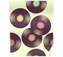 Record Pattern Poster