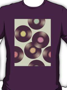 Record Pattern T-Shirt