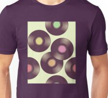 Record Pattern Unisex T-Shirt