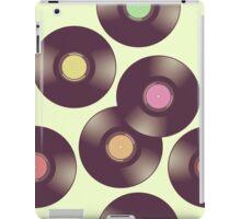 Record Pattern iPad Case/Skin