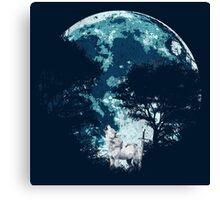 Ghost Direwolf Canvas Print