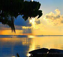Mistical Sunset by axaje
