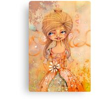 birthday girl Canvas Print