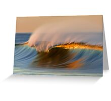 Glow Under The Crest Greeting Card
