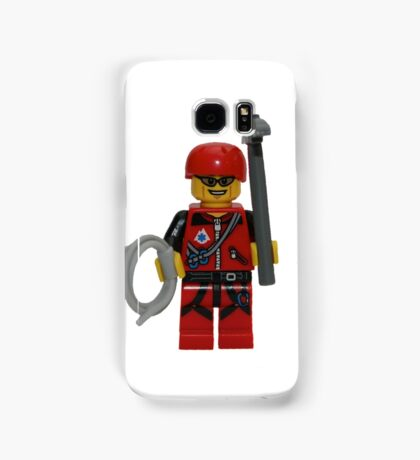 LEGO Climber with Ice Axe and Rope Samsung Galaxy Case/Skin