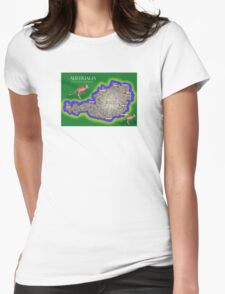 Austrialia Womens Fitted T-Shirt