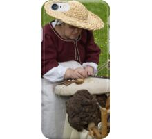 The Lace Maker iPhone Case/Skin