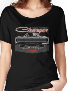 Dodge Charger Classic US Muscle Car Women's Relaxed Fit T-Shirt